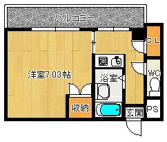 サンヨシダ501号室